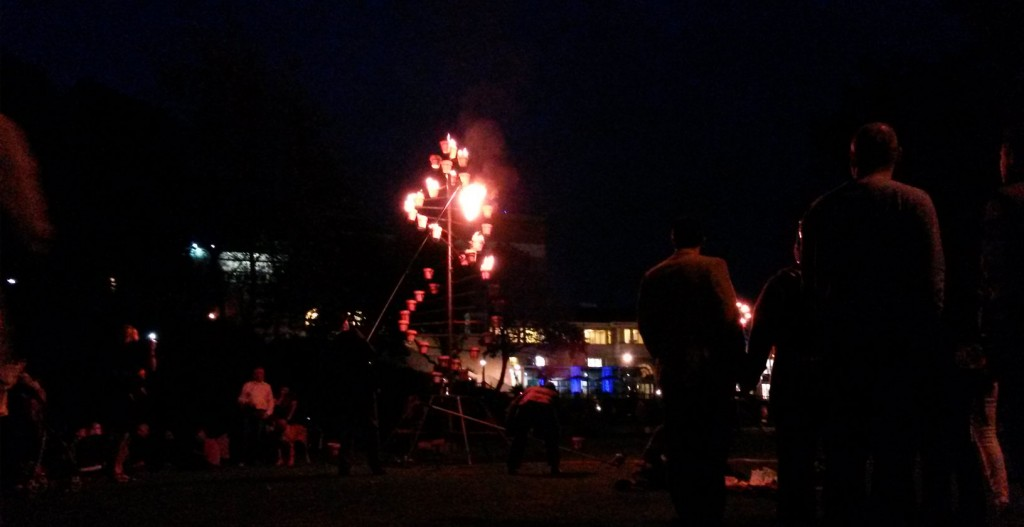 Carabosse Fire Gardens, Arts by the Sea Festival 2014